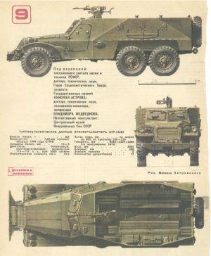 """Начиная с ноября того же года работы над бронетранспортером  """"140 """", получившим армейское наименование БТР-152..."""